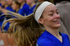 CIAC Girls Volleyball; Bristol Eastern vs. Farmington - Photo # 281