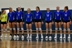 CIAC Girls Volleyball; Bristol Eastern vs. Farmington - Photo # 293