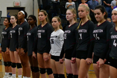 CIAC Girls Volleyball; Bristol Eastern vs. Farmington - Photo # 300