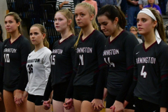 CIAC Girls Volleyball; Bristol Eastern vs. Farmington - Photo # 302