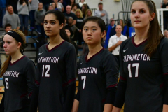 CIAC Girls Volleyball; Bristol Eastern vs. Farmington - Photo # 307