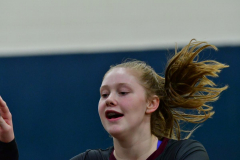 CIAC Girls Volleyball; Bristol Eastern vs. Farmington - Photo # 347