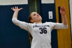 CIAC Girls Volleyball; Bristol Eastern vs. Farmington - Photo # 351