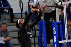 CIAC Girls Volleyball; Bristol Eastern vs. Farmington - Photo # 359