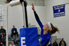CIAC Girls Volleyball; Bristol Eastern vs. Farmington - Photo # 362