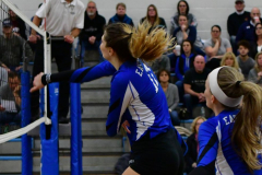 CIAC Girls Volleyball; Bristol Eastern vs. Farmington - Photo # 373