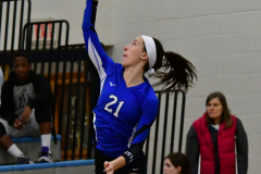 CIAC Girls Volleyball; Bristol Eastern vs. Farmington - Photo # 375