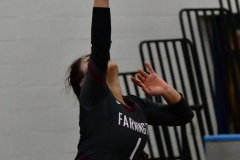 CIAC Girls Volleyball; Bristol Eastern vs. Farmington - Photo # 386
