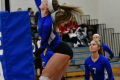 CIAC Girls Volleyball; Bristol Eastern vs. Farmington - Photo # 389