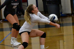 CIAC Girls Volleyball; Bristol Eastern vs. Farmington - Photo # 402
