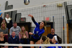 CIAC Girls Volleyball; Bristol Eastern vs. Farmington - Photo # 404