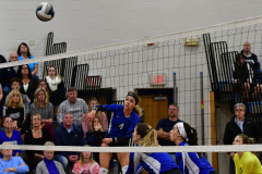 CIAC Girls Volleyball; Bristol Eastern vs. Farmington - Photo # 405