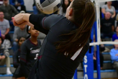 CIAC Girls Volleyball; Bristol Eastern vs. Farmington - Photo # 406