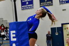 CIAC Girls Volleyball; Bristol Eastern vs. Farmington - Photo # 407