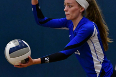 CIAC Girls Volleyball; Bristol Eastern vs. Farmington - Photo # 411
