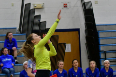 CIAC Girls Volleyball; Bristol Eastern vs. Farmington - Photo # 422