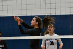 CIAC Girls Volleyball; Bristol Eastern vs. Farmington - Photo # 425