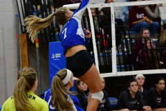 CIAC Girls Volleyball; Bristol Eastern vs. Farmington - Photo # 429