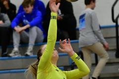 CIAC Girls Volleyball; Bristol Eastern vs. Farmington - Photo # 431