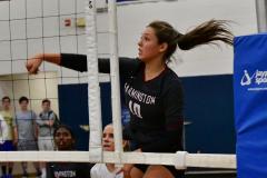 CIAC Girls Volleyball; Bristol Eastern vs. Farmington - Photo # 439