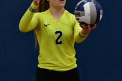 CIAC Girls Volleyball; Bristol Eastern vs. Farmington - Photo # 441
