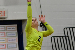 CIAC Girls Volleyball; Bristol Eastern vs. Farmington - Photo # 442