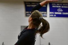 CIAC Girls Volleyball; Bristol Eastern vs. Farmington - Photo # 451