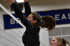 CIAC Girls Volleyball; Bristol Eastern vs. Farmington - Photo # 463