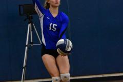 CIAC Girls Volleyball; Bristol Eastern vs. Farmington - Photo # 467