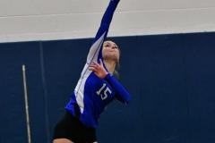 CIAC Girls Volleyball; Bristol Eastern vs. Farmington - Photo # 468