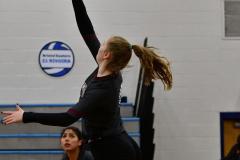 CIAC Girls Volleyball; Bristol Eastern vs. Farmington - Photo # 471