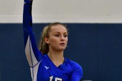 CIAC Girls Volleyball; Bristol Eastern vs. Farmington - Photo # 477
