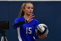 CIAC Girls Volleyball; Bristol Eastern vs. Farmington - Photo # 481