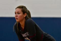 CIAC Girls Volleyball; Bristol Eastern vs. Farmington - Photo # 483