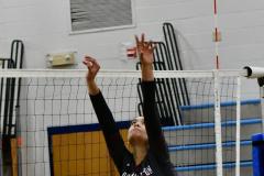 CIAC Girls Volleyball; Bristol Eastern vs. Farmington - Photo # 500