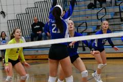 CIAC Girls Volleyball; Bristol Eastern vs. Farmington - Photo # 502