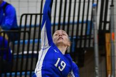CIAC Girls Volleyball; Bristol Eastern vs. Farmington - Photo # 503
