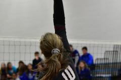 CIAC Girls Volleyball; Bristol Eastern vs. Farmington - Photo # 504