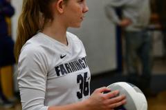 CIAC Girls Volleyball; Bristol Eastern vs. Farmington - Photo # 516