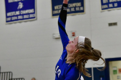 CIAC Girls Volleyball; Bristol Eastern vs. Farmington - Photo # 528