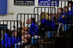 CIAC Girls Volleyball; Bristol Eastern vs. Farmington - Photo # 532
