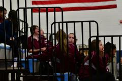 CIAC Girls Volleyball; Bristol Eastern vs. Farmington - Photo # 533