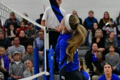 CIAC Girls Volleyball; Bristol Eastern vs. Farmington - Photo # 540