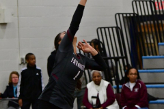CIAC Girls Volleyball; Bristol Eastern vs. Farmington - Photo # 551