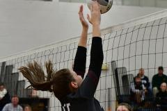 CIAC Girls Volleyball; Bristol Eastern vs. Farmington - Photo # 553