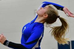 CIAC Girls Volleyball; Bristol Eastern vs. Farmington - Photo # 567