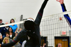 CIAC Girls Volleyball; Bristol Eastern vs. Farmington - Photo # 568