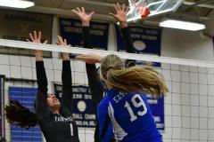 CIAC Girls Volleyball; Bristol Eastern vs. Farmington - Photo # 575