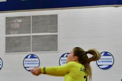 CIAC Girls Volleyball; Bristol Eastern vs. Farmington - Photo # 577