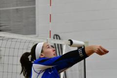 CIAC Girls Volleyball; Bristol Eastern vs. Farmington - Photo # 578